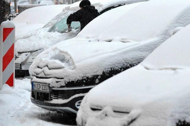 Schneefall verursacht mehrere Unfälle im Ortenaukreis