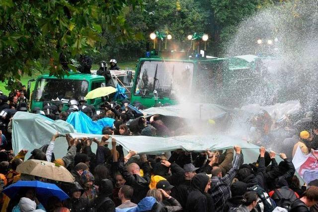 Polizeipräsident: Keine Vorgaben für Demo-Einsatz