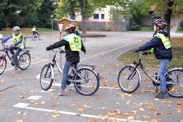 Unsere praktische Fahrradprüfung