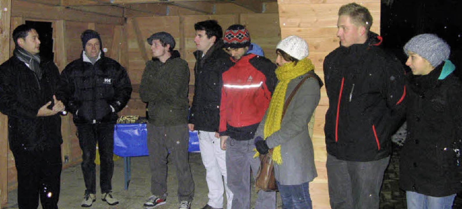 Eröffnet wurde jetzt der neue Jugendtreffpunkt in Denzlingen.   | Foto: Roman Kiener