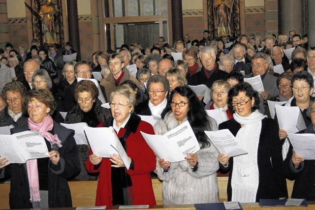 Ergreifender Eindruck in der Bräunlinger Stadtkirche