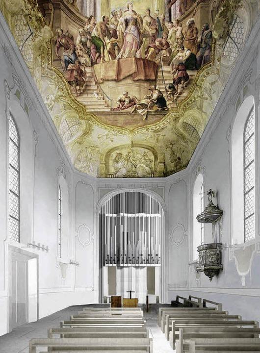 Nach den Vorstellungen des evangelisch...irche Beuggen in Zukunft so aussehen.   | Foto: privat