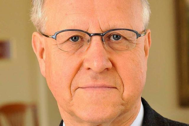Wolfgang Jäger wird Freiburger Ehrenbürger