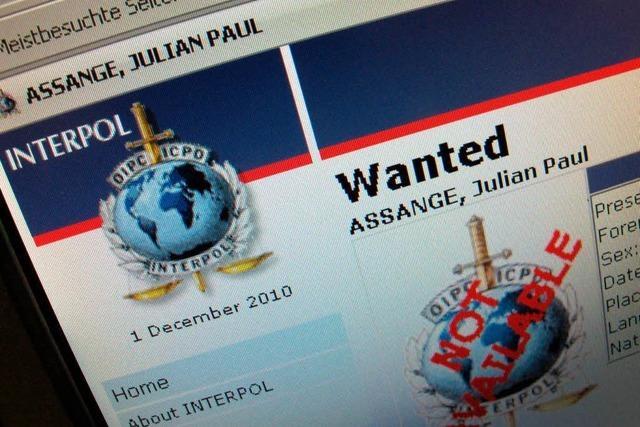 Text & Video: Interpol fahndet nach Wikileaks-Chef