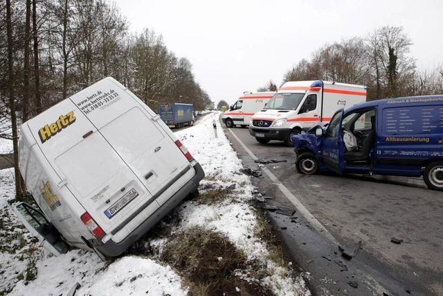 Schwerer Unfall auf dem Mahlberger Buck
