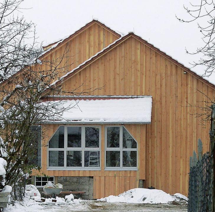 Alte Säge im Schnee  | Foto: anfe