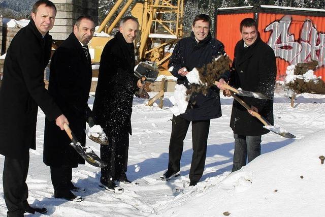 Neues Baucenter kostet zwei Millionen Euro