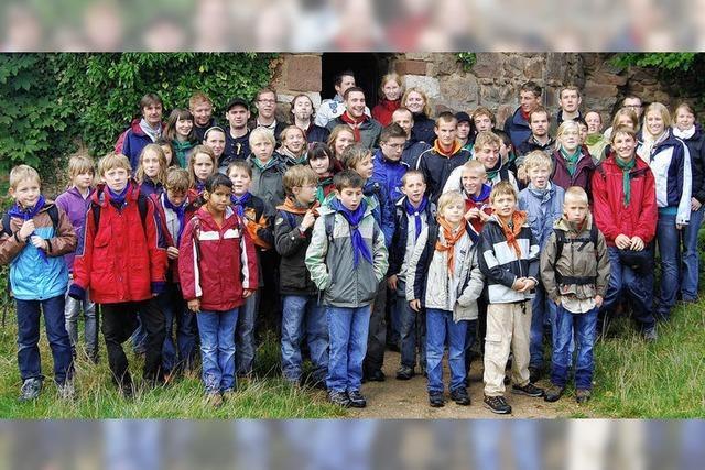 Pfadfinderstamm St. Sebastian feiert 60-jähriges Bestehen