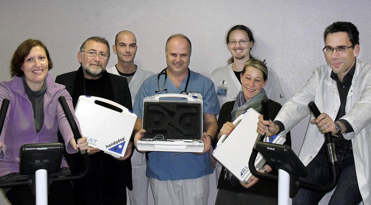 Freuen sich über die Unterstützung des...ammerer, Angela Liehr und Dr. Maraun.   | Foto: Privat