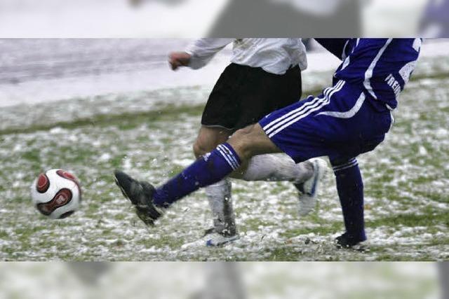 Im Fußball (fast) überall Winterpause