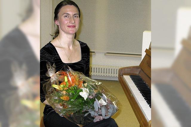 Stürmischer Beifall für junge Pianistin