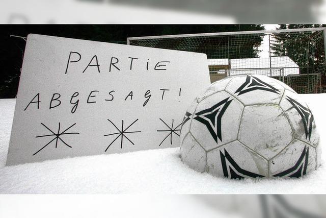 Fußballer gehen zum Teil vorzeitig in die Winterpause