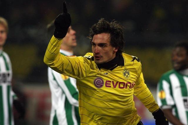 Dortmund wahrt Chance auf K.-o.-Runde