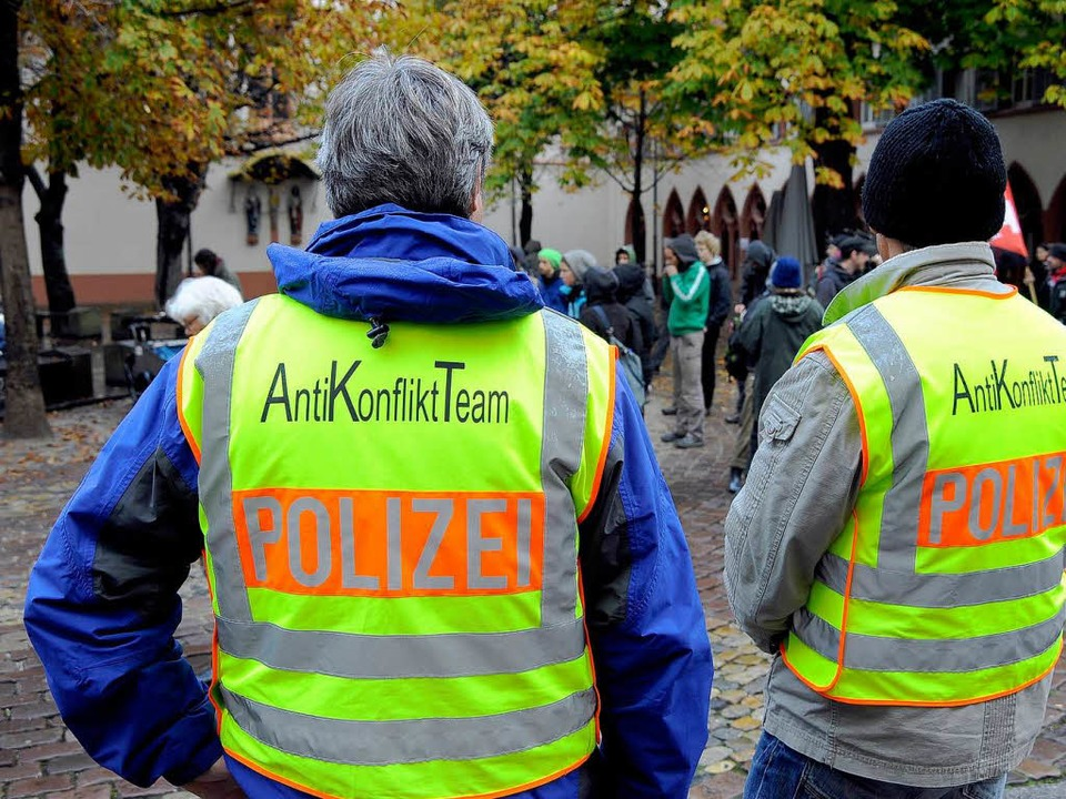 Auf das Anti-Konflikt-Team der Polizei kommt viel Arbeit zu.    Foto: Thomas Kunz