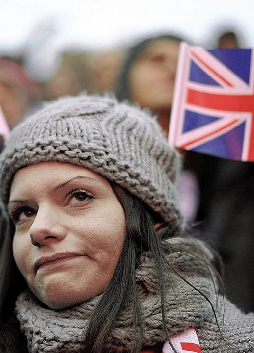 Ein Gesicht, das alles sagt: Dieser we...Abstimmungsergebnis nicht verbergen.      Foto: afp