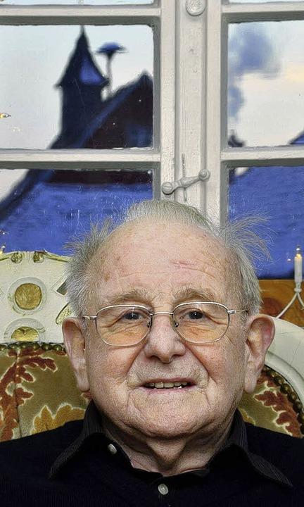 Ewald Wagner  feiert heute seinen 85. Geburtstag.   | Foto: Dieter Erggelet