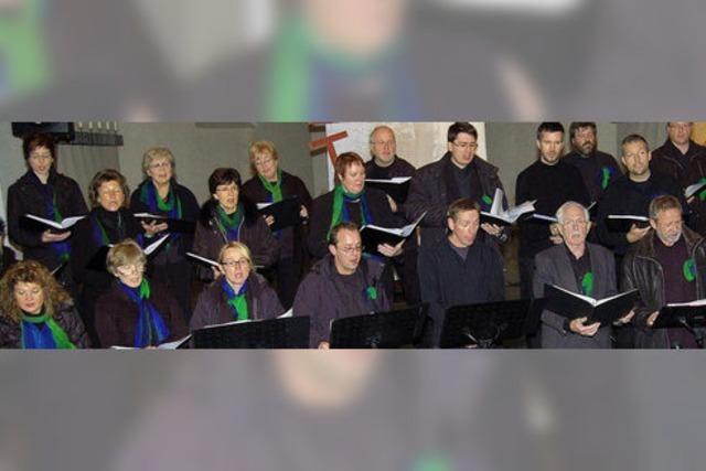 Zwei Generationen im Kirchenkonzert verbunden