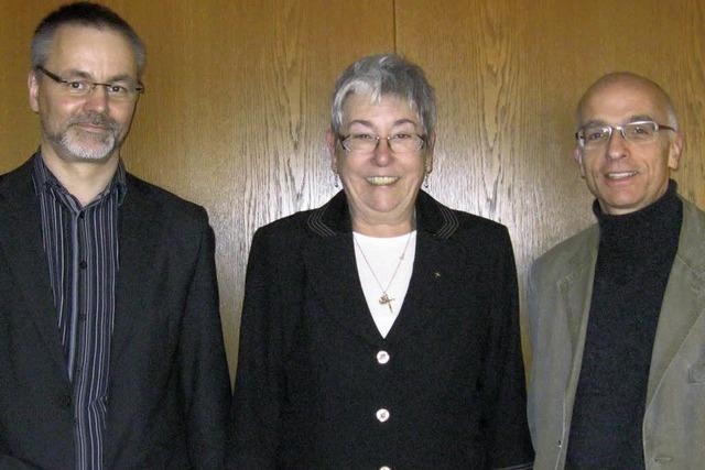 Drei Pfarrer wechseln sich im Vorsitz ab