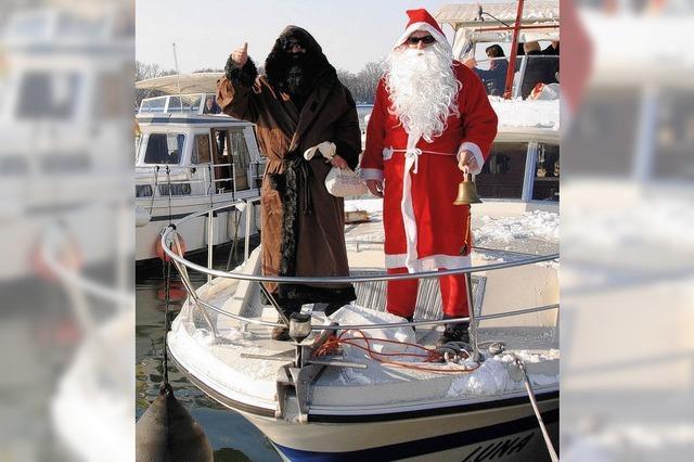 Leinen los – Nikolaus und Ruprecht stechen in See