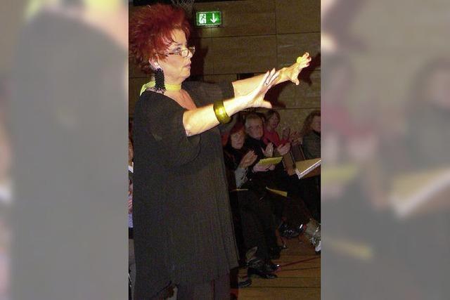 Eine Siebenbürgerin mit Takt und Musikverstand