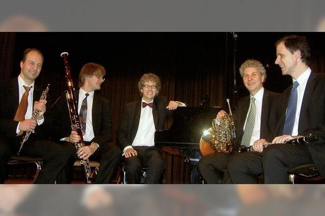 Kammermusik in seltener und reizvoller Besetzung