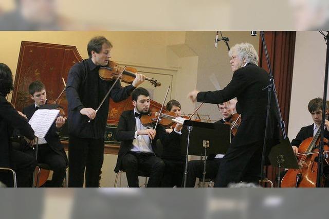 Bach in jugendlicher Frische