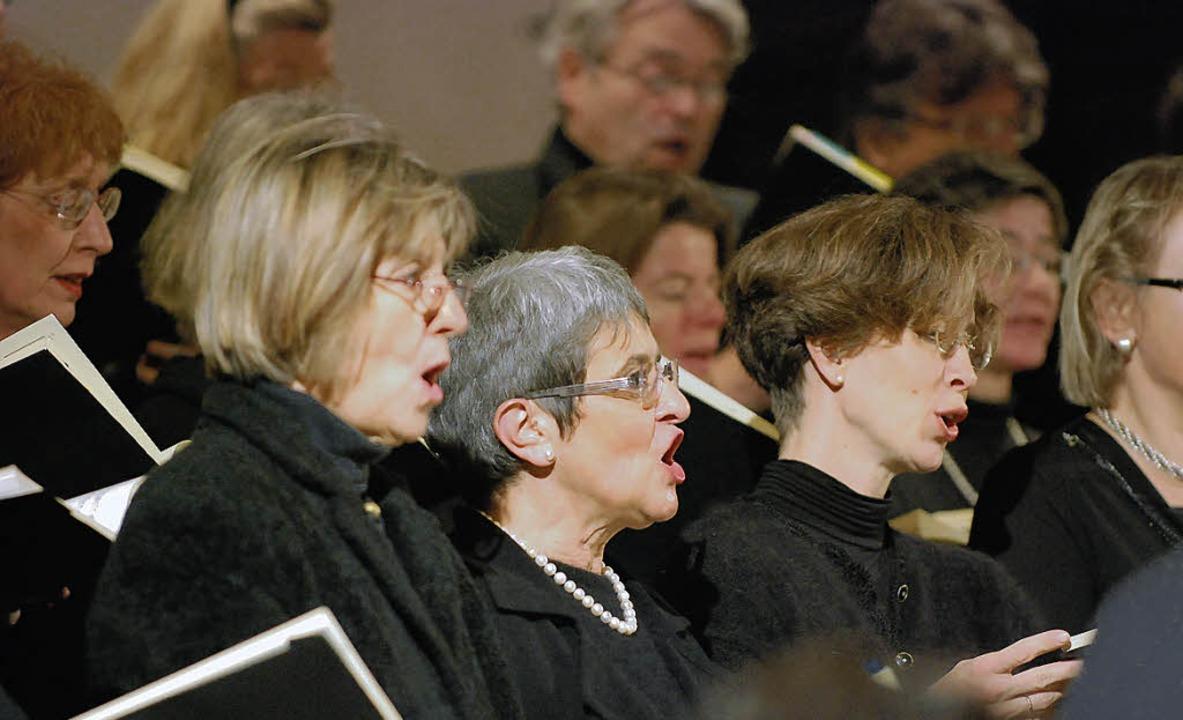 Sängerinnen des Kammerchors Offenburg   | Foto: Gertrude Siefke