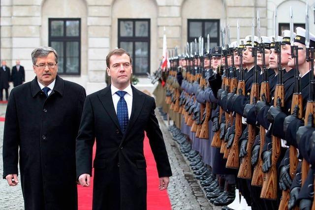 Russland will den Dialog mit Polen