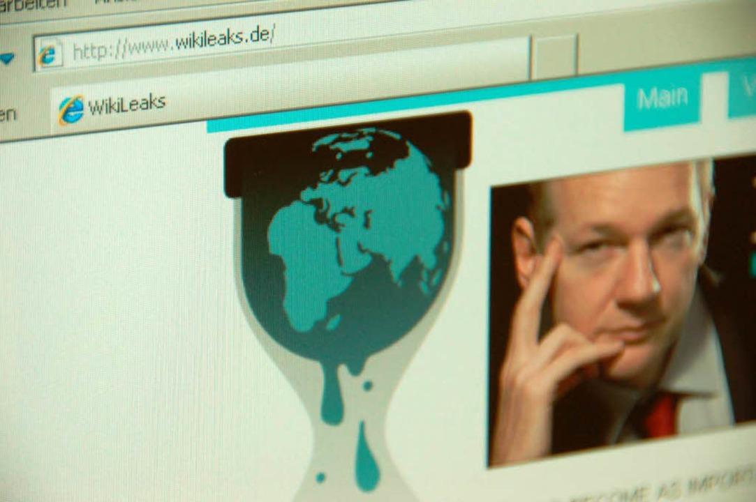 Derzeit einer der Schlüsselzugänge zu ...eigt Wikileaks-Gründer Julian Assange.  | Foto: -