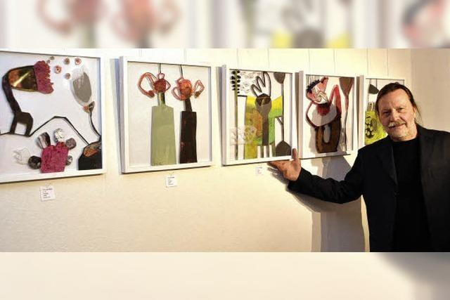 Quartett zeigt seine Werke