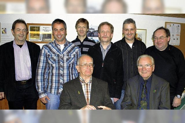 Josef Hoch 70 Jahre dabei