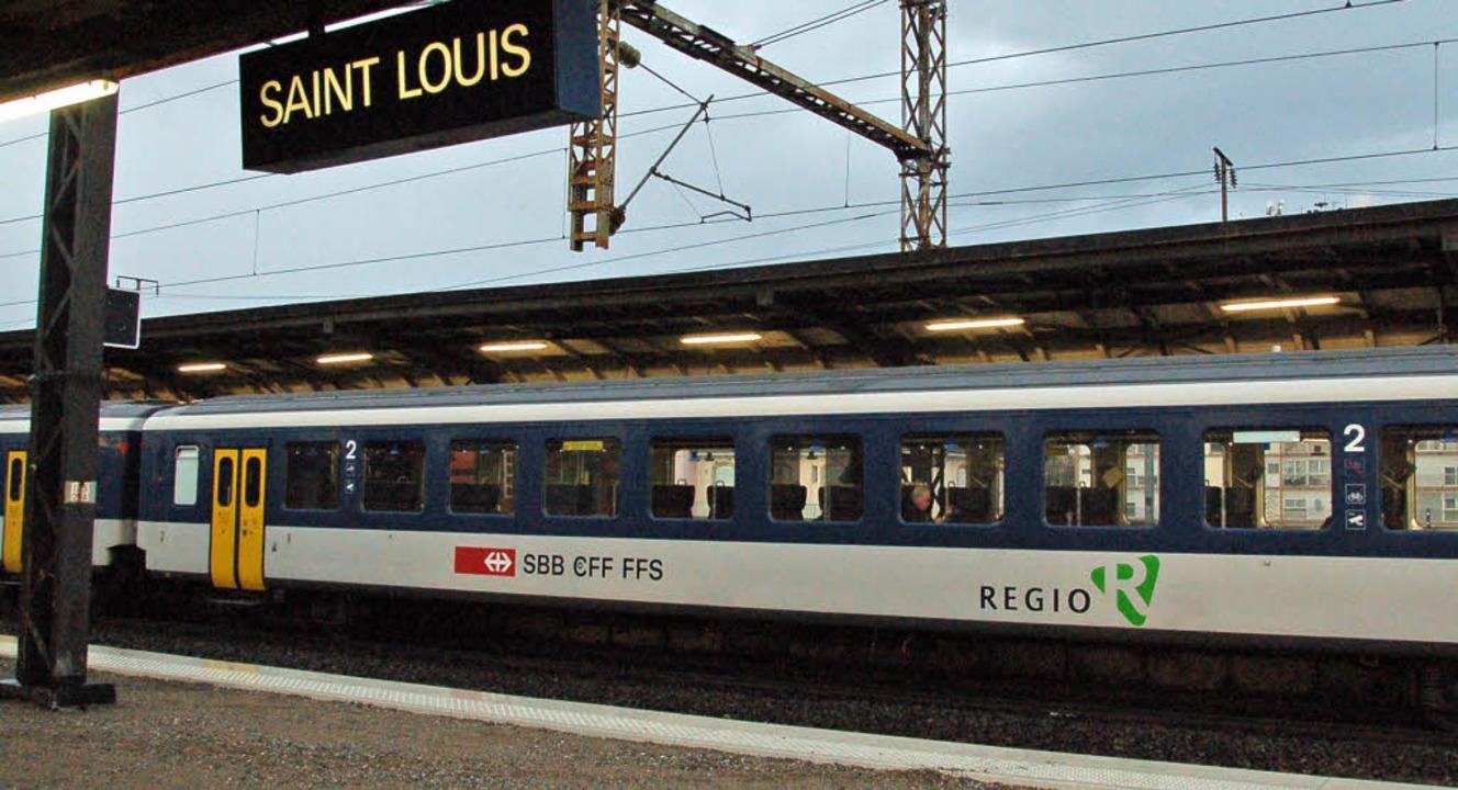 Auf die Regio S-Bahn-Strecke von Basel...edient wird, kommen neue Probleme zu.   | Foto: Annette Mahro