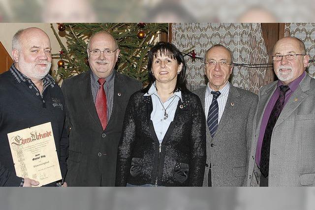 Gernot Fleig ist zum Ehrenmitglied ernannt worden