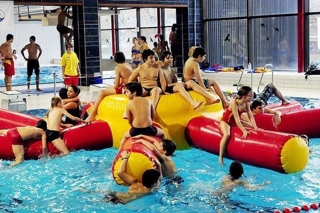Spiel und Spaß im Bad