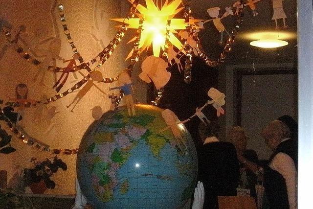 Die Welt in einem Fenster