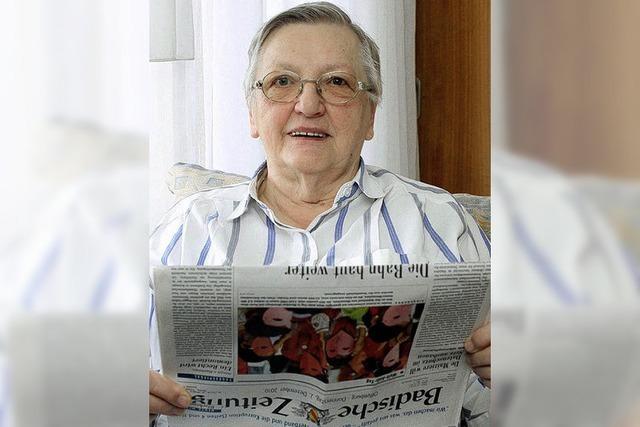 Die große alte Dame der Offenburger Kommunalpolitik