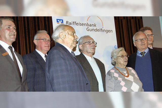 Der Bank seit einem halben Jahrhundert verbunden