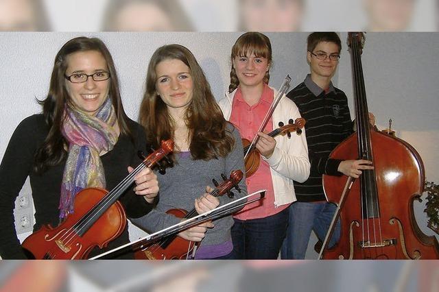 Musikalische Talente unter sich
