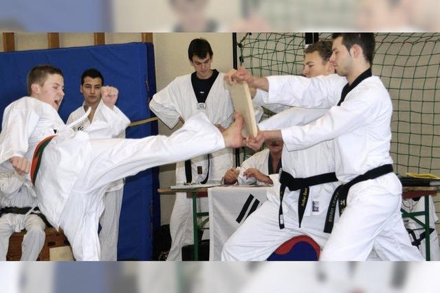 Prüfungen in neuer Kampfsportart