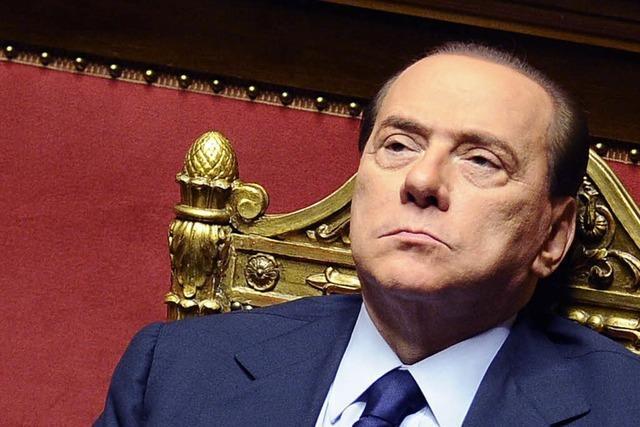 Berlusconi übersteht Misstrauensvotum im Senat