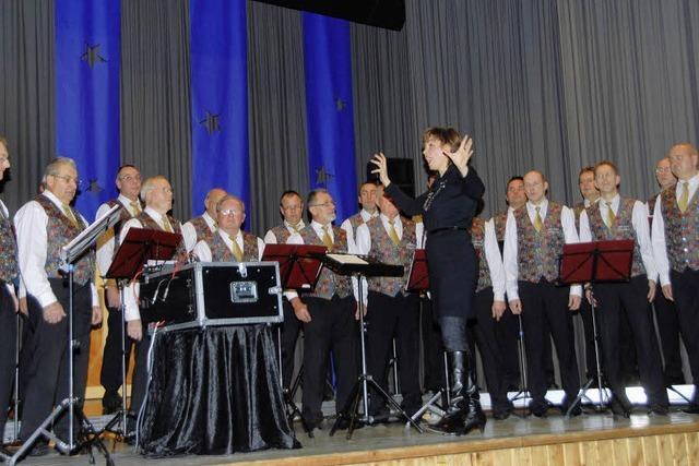Sänger waren in Hochform
