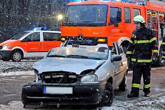 Unfall im Berufsverkehr