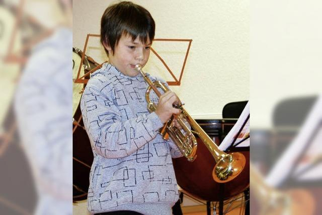 Jungmusiker zeigen ihre Klasse