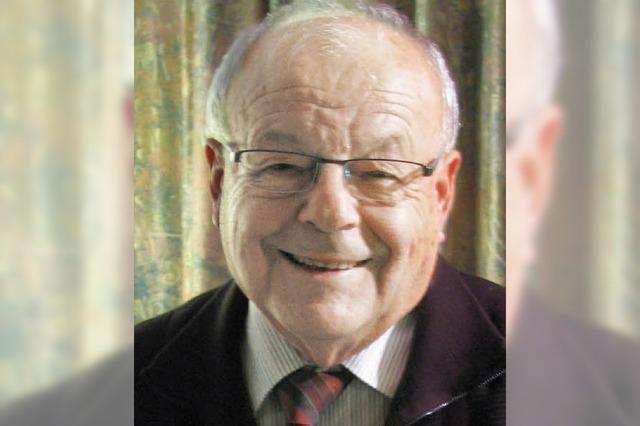 Ex-Forstpräsident Lauterwasser wird 80