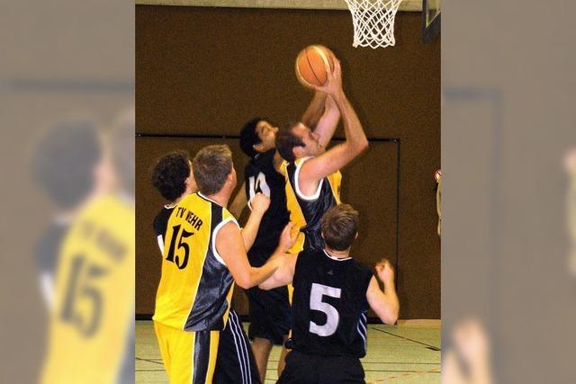 Basketballer mit guten Nerven