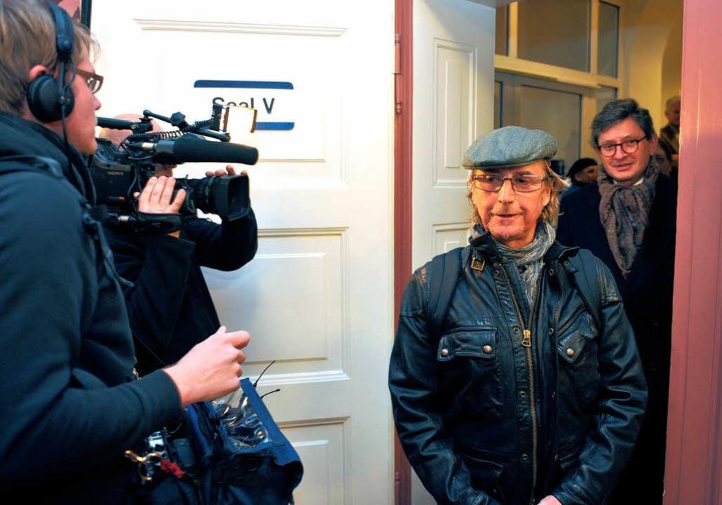 Martin Semmelrogge musste sich vor dem Freiburger Amtsgericht verantworten.  | Foto: dpa