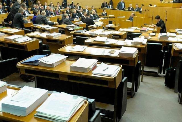 Eklat bei EnBW-Votum im Stuttgarter Landtag