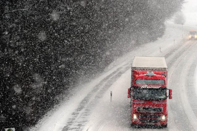Schneefront zieht über Deutschland – und wann über Südbaden?