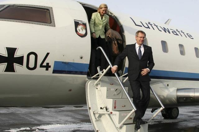Bundespräsident Wulff auf Antrittsbesuch in Südbaden