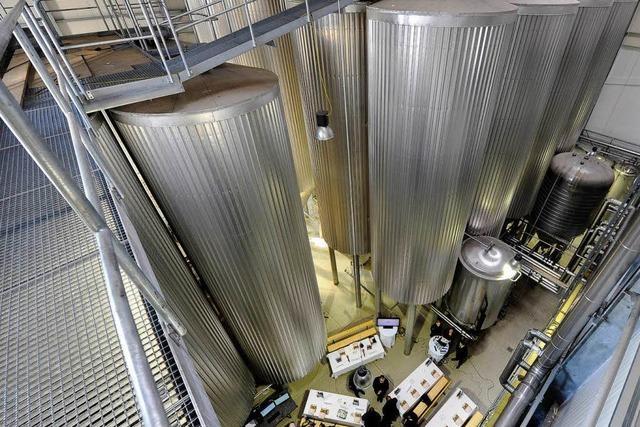 Ganter braut Bier in neuer Produktionsanlage